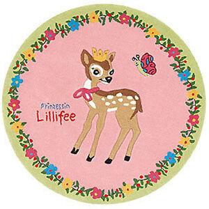 Princesse Lillifee Tapis 2935-01 130 Rond Neuf