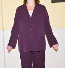 Lane Bryant Purple Women's Suit Size 18-20 with Camisole NWT