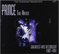 Prince - The Artist Greatest Hits in Concert 1982-1991 (Box Set 6cd)#
