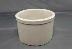 Old Stoneware Bowl for Pet Dog Cat Puppy Food Water Feeder Feeding Dish ~ 1 Qt