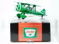 Sinclair 37512 Stearman Bi-Plane Die Cast Metal Collectible Bank