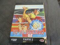 "COFFRET 8 DVD ""YU YU HAKUSHO - PARTIE 2 (épisodes 57 à 112)"" manga"