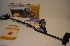 Minelab X-Terra 705 Metal Detector - New Minelab Finds Pouch Free Shipping