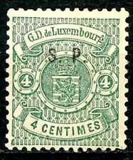 Luxembourg Official Issue of 1881 4 Centimes MH Scott's O41 Well-Centered