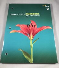 HMH Science Dimensions, Cells And Heredity, Student WB, Brand New, 2018