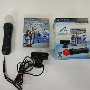 Sony Playstation 3 Move Bundle (controller, Camera, and Sports Champion Game)PS3