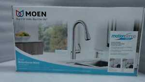 MOEN Essie Touchless Pulldown Sprayer Kitchen Faucet in Spot Resist Stainless