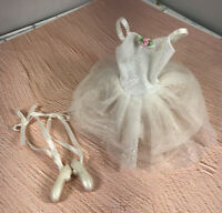 BARBIE FAIRY Like Iridescent Sparkly BALLERINA  Outfit w/ Ballerina Shoes