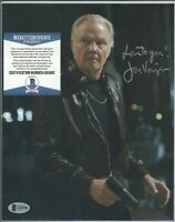 Jon Voight Actor Signed Auto 8x10 Photo BAS Beckett COA