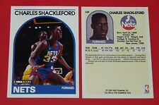 # 169 CHARLES SCHACKLEFORD NEW JERSEY NETS 1989 NBA HOOPS BASKETBALL CARD