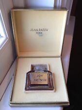 Vintage JOY de JEAN PATOU Womens .5oz  Mini Perfume Fragrance Boxed READ Used