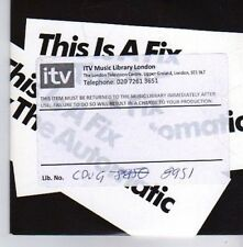 (CK310) The Automatic, This Is A Fix - DJ CD