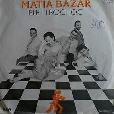 "7"" 1983 RARE GERMAN PRESS  I MATIA BAZAR : Elettrochoc"