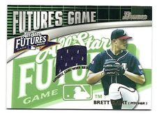 Brett Evert 2003 Bowman Futures Game Jersey Card # FG-BE,Atlanta Braves