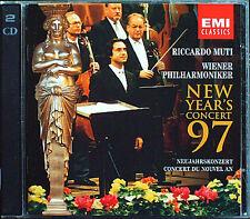 Neujahrskonzert aus Wien 1997 Riccardo MUTI 2CD New Year's Concert from Vienna