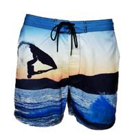 MEN`S NEW H&M SWIM BOARD SHORTS SIZES XS-S-M-L-XL BLUE BEACH SURF