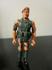 Vintage 80s Hong Kong American Mission The Demon Enemy Die Cast Military Soldier