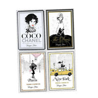 Megan Hess 4 Books Collection Set Coco Chanel, Paris, New York, The Dress New