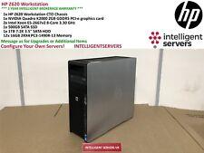 HP Z620 Workstation 2x Xeon E5-2667 V2 3.30GHz 192GB 1TB SATA 500GB SSD K2000