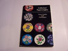 Collectors' Paperweights  Price Guide And Catalogue By Lawrence H. Selman 1979
