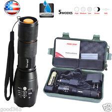 5000lm X800 Flashlight CREE XM-L T6 LED Zoom Military Torch ShadowHawk + Battery