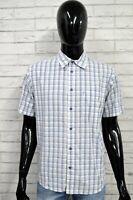 Camicia WRANGLER Uomo L Maglia Chemise Shirt Camisa Blusa Bluse Man Cotone