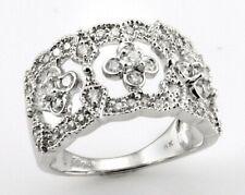 Anniversary Band Ring By Filigio $2800 18K Gold 0.79Ct Diamond