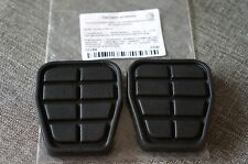 2x Febi Brake & Clutch Pedal Pad Cover Audi 80 90 VW Passat Golf Jetta Seat
