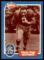 1988 Hall of Fame BLUE #117 Charley Trippi RARE Chicago Cardinals / Georgia Dogs