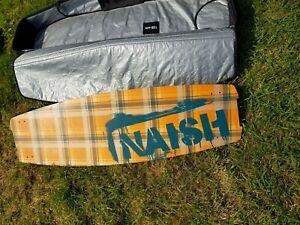 Naish kite surfing board and bag