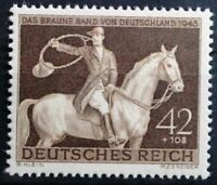 THIRD REICH 1943 mint MNH Braunes Band Horse Race stamp! *99 CENT SPECIAL**