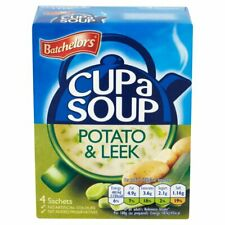 Batchelors Cup a Soup Potato & Leek 107g (Pack of 6) Free Shipping