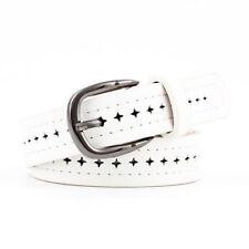 New Women's Fashion Leather Waist Belt Alloy Pin Buckle Retro Leisure Strap A++