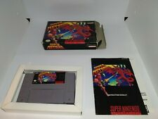 SNES Super Metroid NTSC Complete in Box US Version