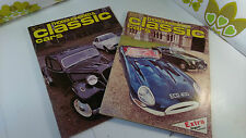 2x Thoroughbred & Classic Cars Magazine 1977/78 Vintage Veteran Cars Jaguar (11)