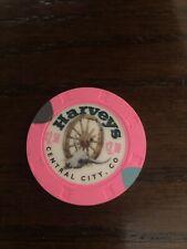 New listing $2.50 Harvey's Casino Chip Central City Colorado