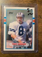 1989 Topps Traded Troy Aikman Dallas Cowboys #70T Football Card