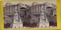 Genova Genova Italia Italia Cristoforo Colombo Vintage Stereo Stereoview