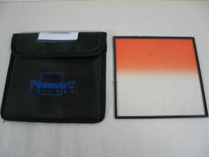 """FORMATT 6,6""""x6,6"""" Coral 3 Soft Verlauf Filter mit Schutztasche, gebraucht"""
