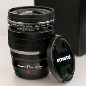 Olympus M.Zuiko Digital ED 17mm f/1.2 PRO Lens