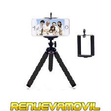 Base Tripode Soporte Adaptador Universal iPhone Samsung Smartphone Movil Camara