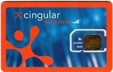 New listing Vintage At&T (Cingular) Sim Card 3G
