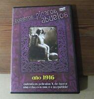 DVD pelicula Nuestros Pícaros abuelos Antigio cine erótico 1916