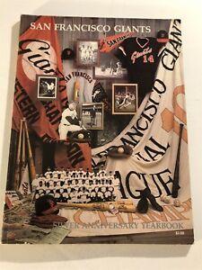 1982 SAN FRANCISCO GIANTS Official Yearbook Joe MORGAN Willie MAYS Juan MARICHAL