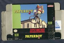 1991 Super Nintendo Entertainment System Paper Boy 2 SNES Game Box Only