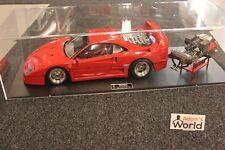Pocher Professional built kit Ferrari F40 1:8 red + engine