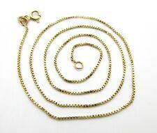 333er Goldkette Halskette 8kt Nachlass Echtgold gelbgold Schmuck Venezianer 43cm