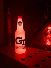 NCAA Georgia Tech Football 12oz Beer Bottle Light LED March Madness