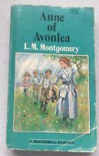 Anne of Avonlea by L.M. Montgomery 1997 Paperback