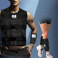 44LBS Adjustable Weighted Vest Strength Training Jacket Exercise